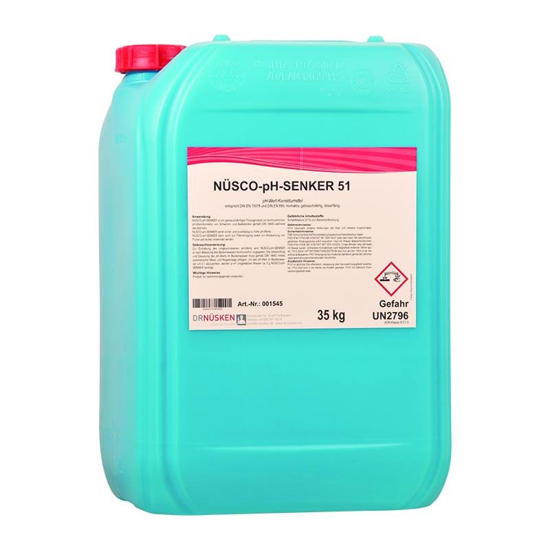 Nüsco-pH-Senker 37 flüssig  pH-Wert – Regulierung