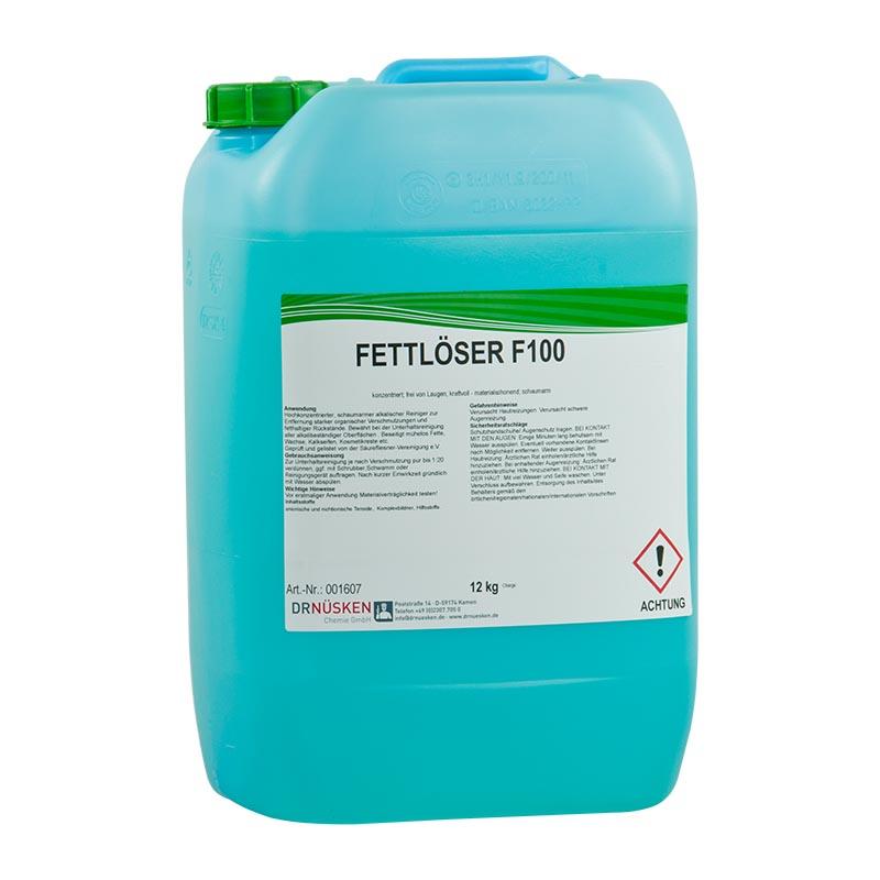 Fettlöser F100 schaumarmes alkalisches Reinigungskonzentrat