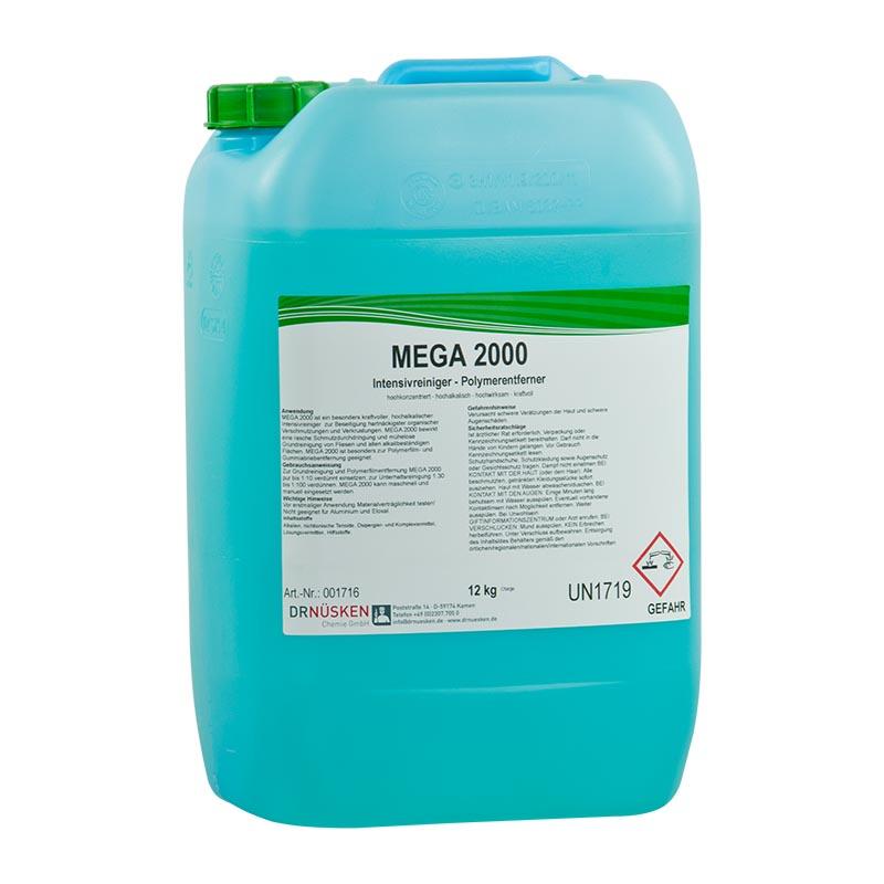 Mega 2000 alkalischer Intensivreiniger und Polymerentferner