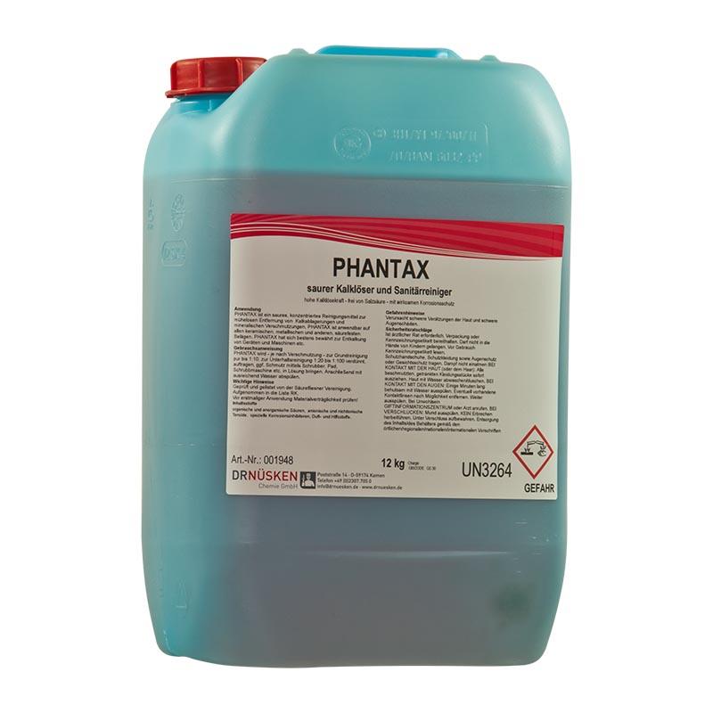 Phantax saurer Kalklöser und Sanitärreiniger