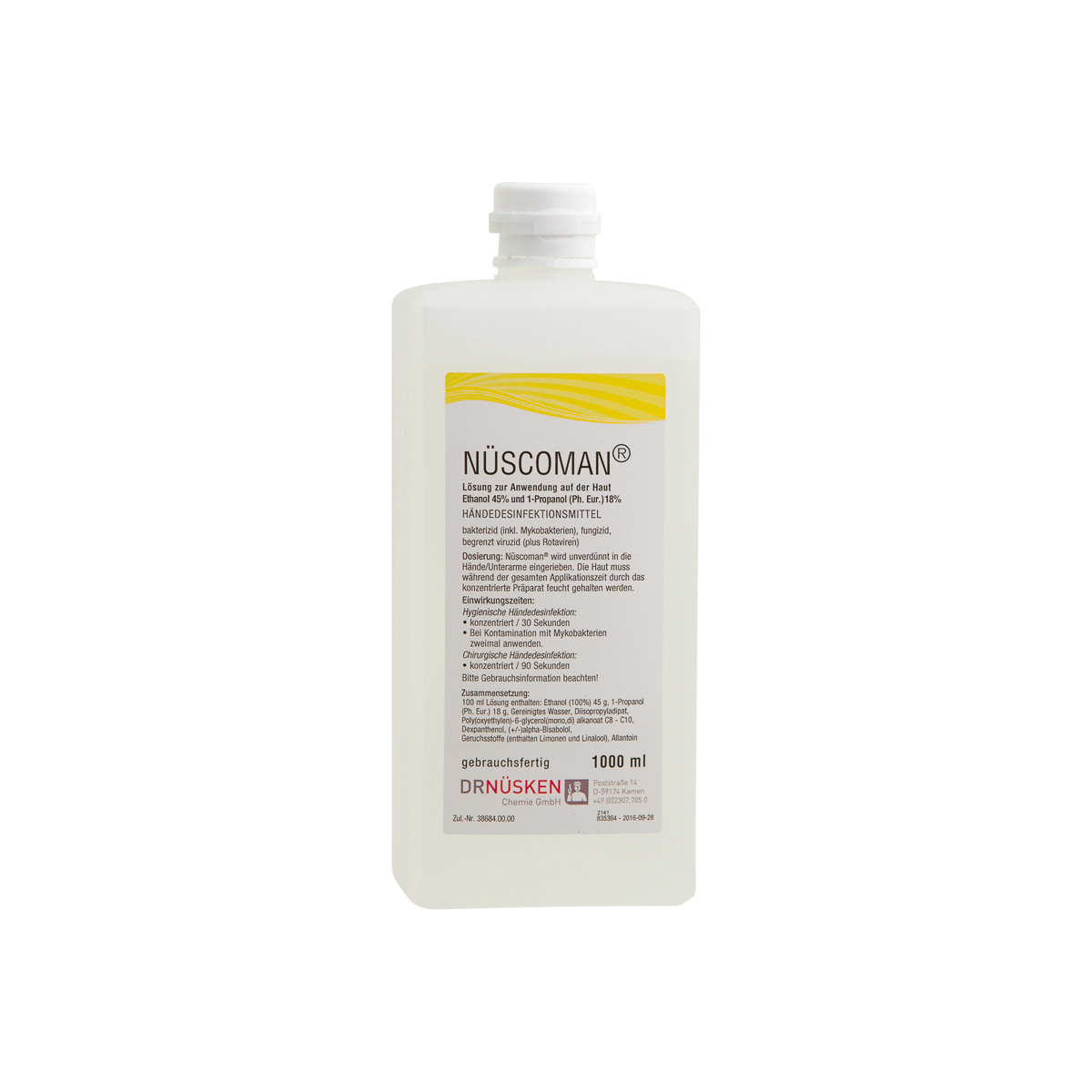 Nüscoman® 1 Liter Händedesinfektionsmittel