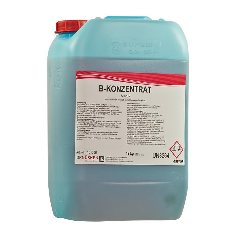 B-Konzentrat Super stark saurer Grundreiniger (Salzsäure)