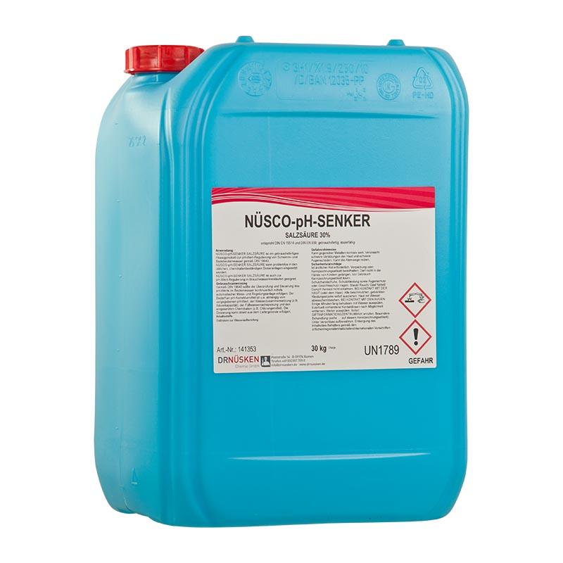 Nüsco-pH-Senker Salzsäure 30%  pH-Wert – Regulierung
