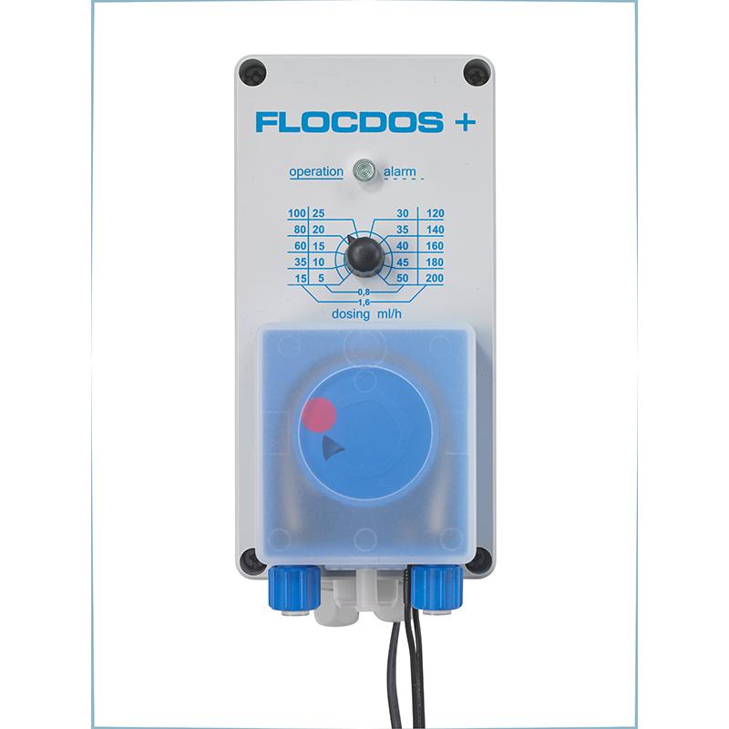 Flocdos+ 15-200 ml/h mit Sauggarnitur und Impfstelle