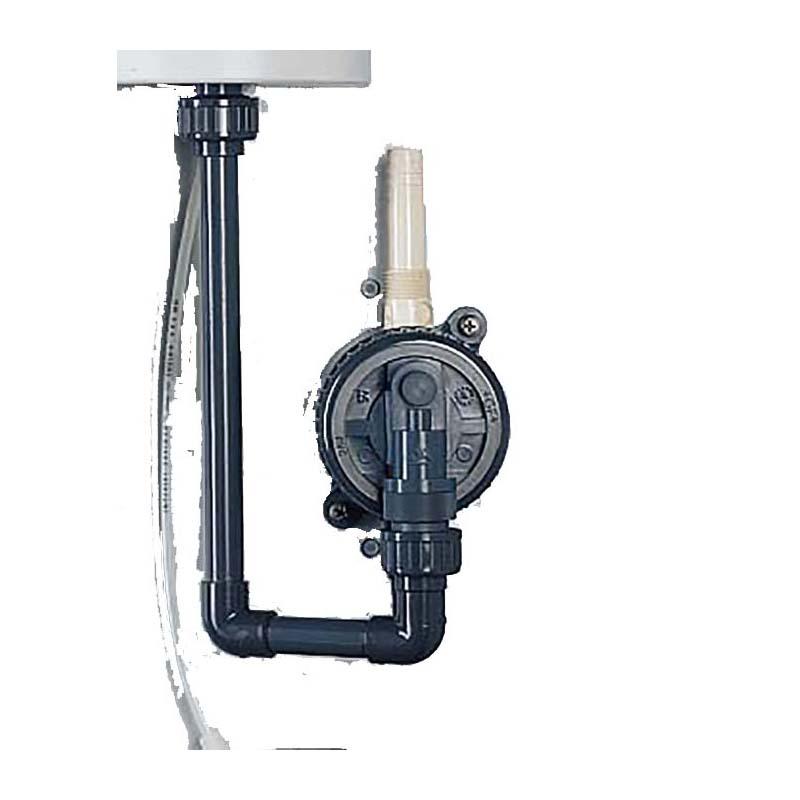 Antisiphon Chlorgas-Mischinjektor 3/4″ bis 4 kg Chlorgas