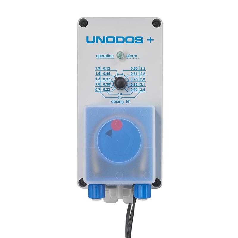 Unodos+ 0,7-3,4 ml/h mit Sauggarnitur und Impfstellen