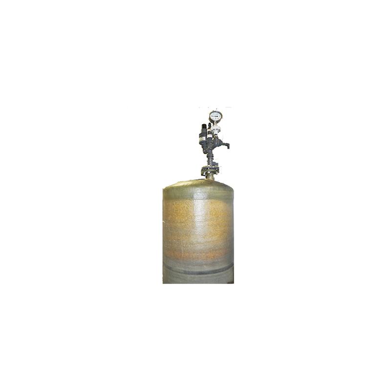 Marmorkies-Behälter GFK 200 Liter Druckfest