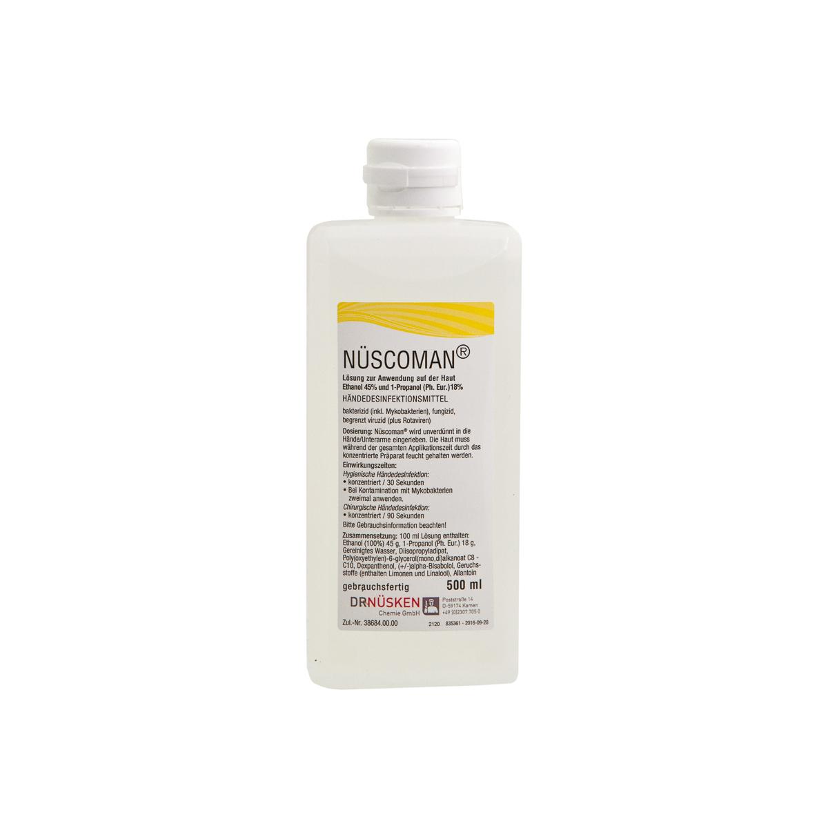 Nüscoman® 500 ml Händedesinfektionsmittel