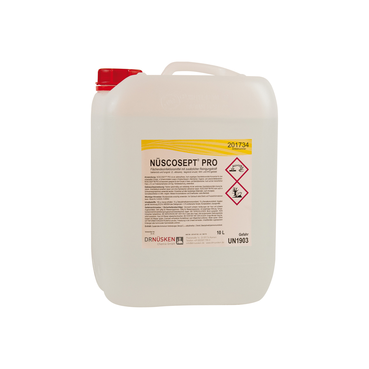 Nüscosept® PRO 10 Liter