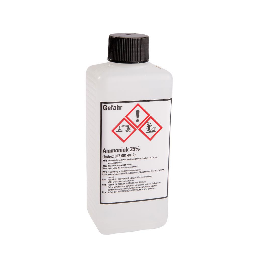 Ammoniaklösung zur Dichtigkeitsprüfung Chlorgas