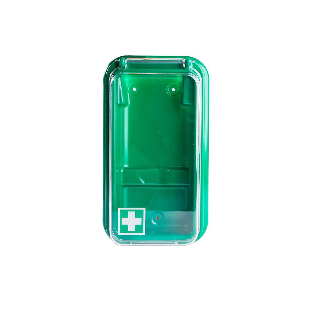 Wandbehälter für eine Augenspülflasche