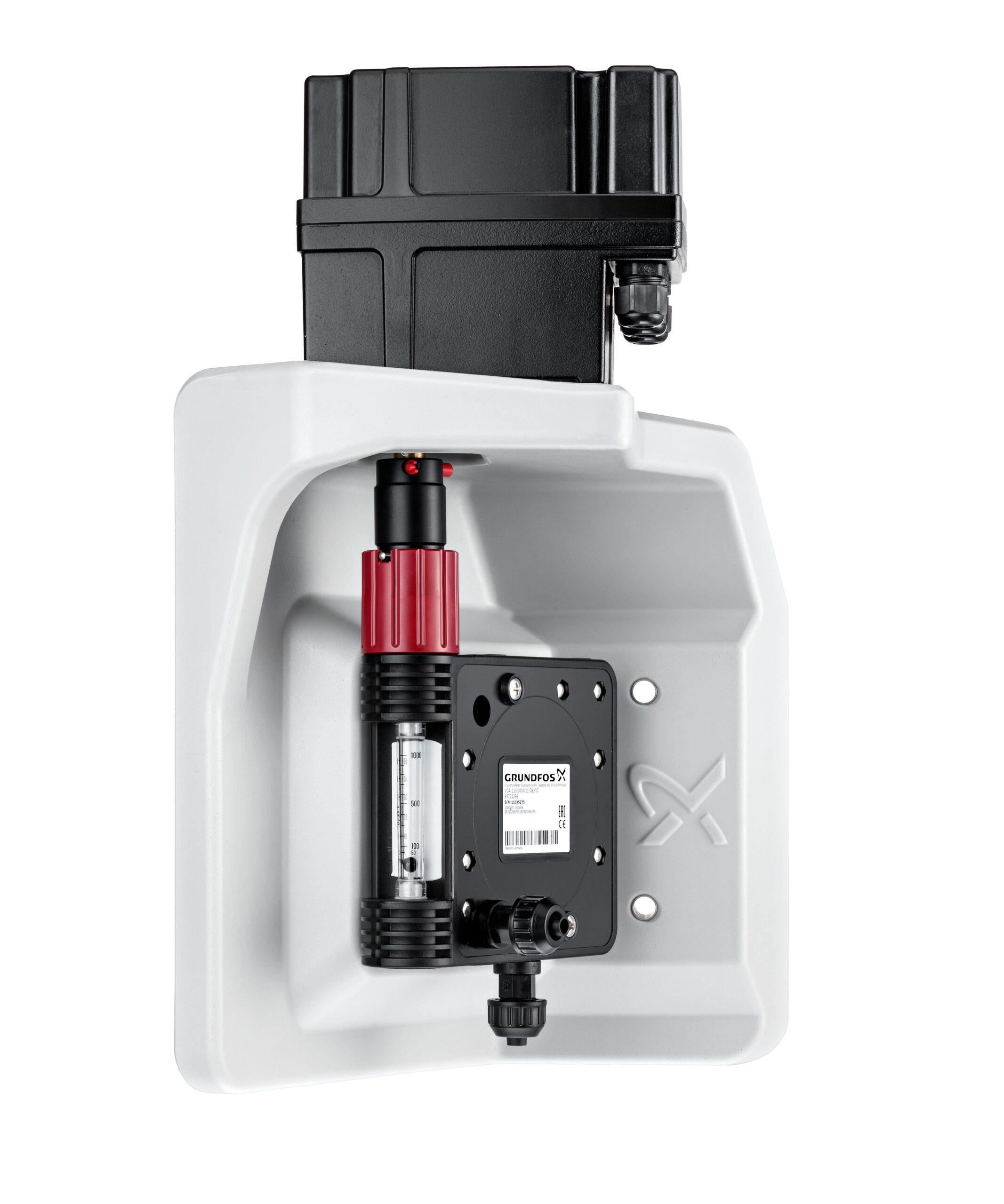 Grundfos Chlorgas Vollvakuum-Dosierregler mit Stellmotor 50-1000g Chlor/Stunde