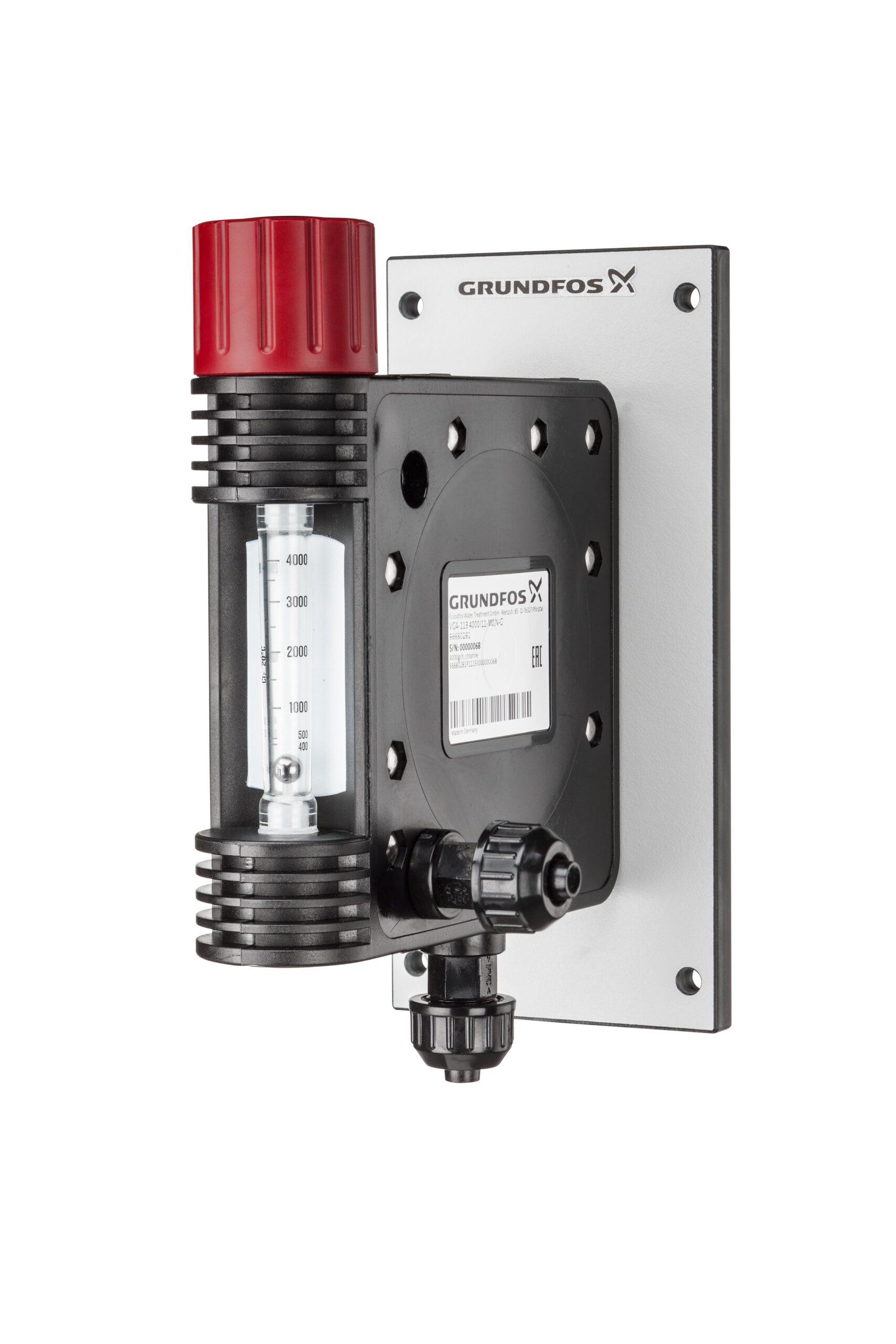 Grundfos Chlorgas Vollvakuum-Dosierregler 2-40 g Chlor/Stunde